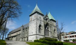 Stavanger Cathedral east side