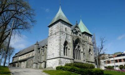 Stavanger Cathedral east side