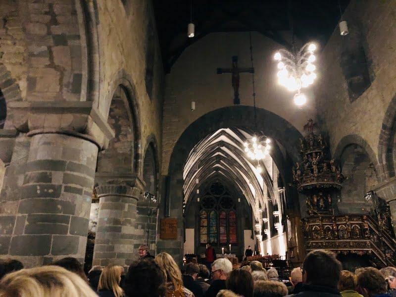 Stavanger Cathedral inside