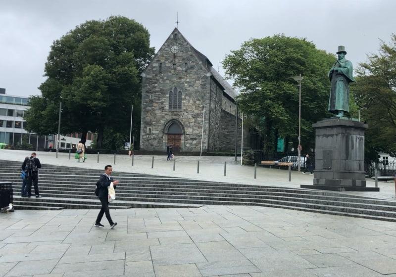 Stavanger Cathedral west side