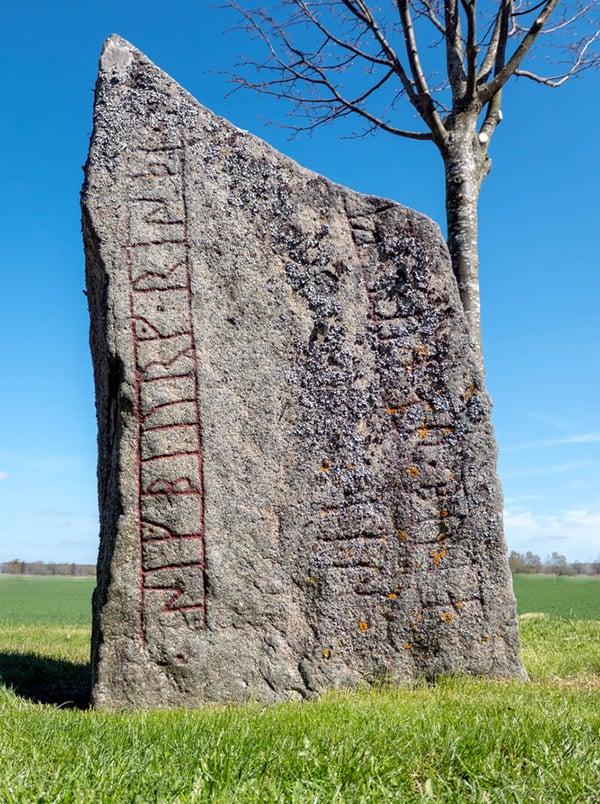 A famous Scandinavian runestone