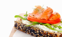 Norwegian open sandwich with pålegg