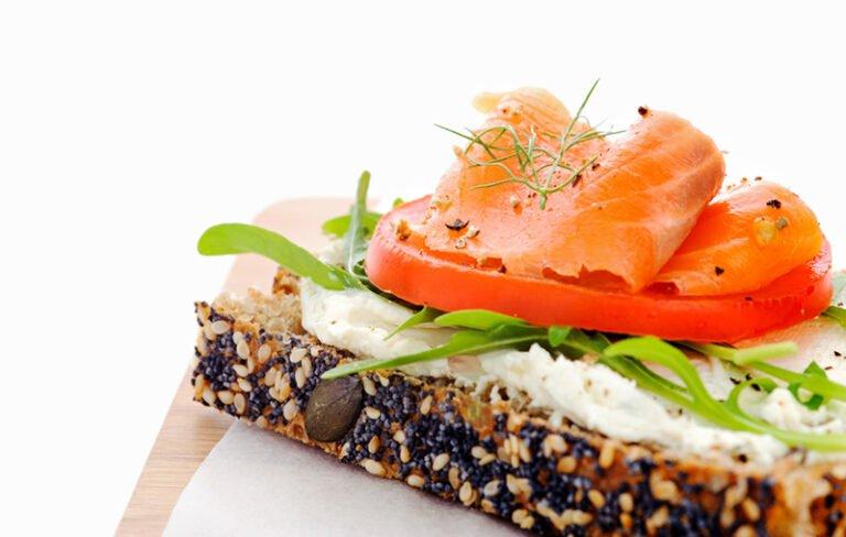 Norwegian open sandwich with pålegg