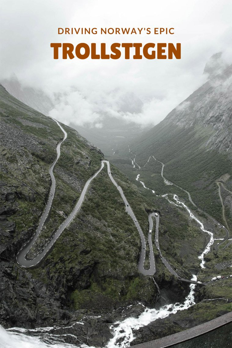 Driving Norway's epic Trollstigen