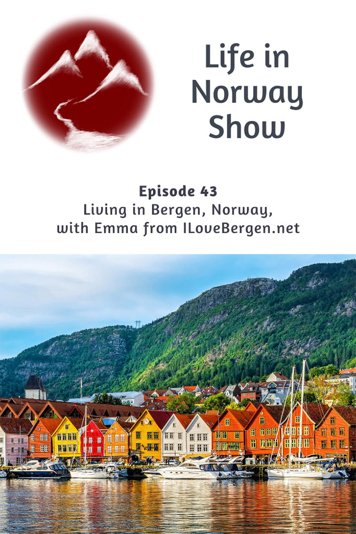 Life in Bergen: Living in Bergen and working as a tour guide.