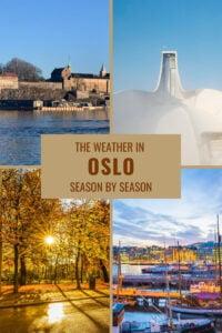 Weather in Oslo season by-season