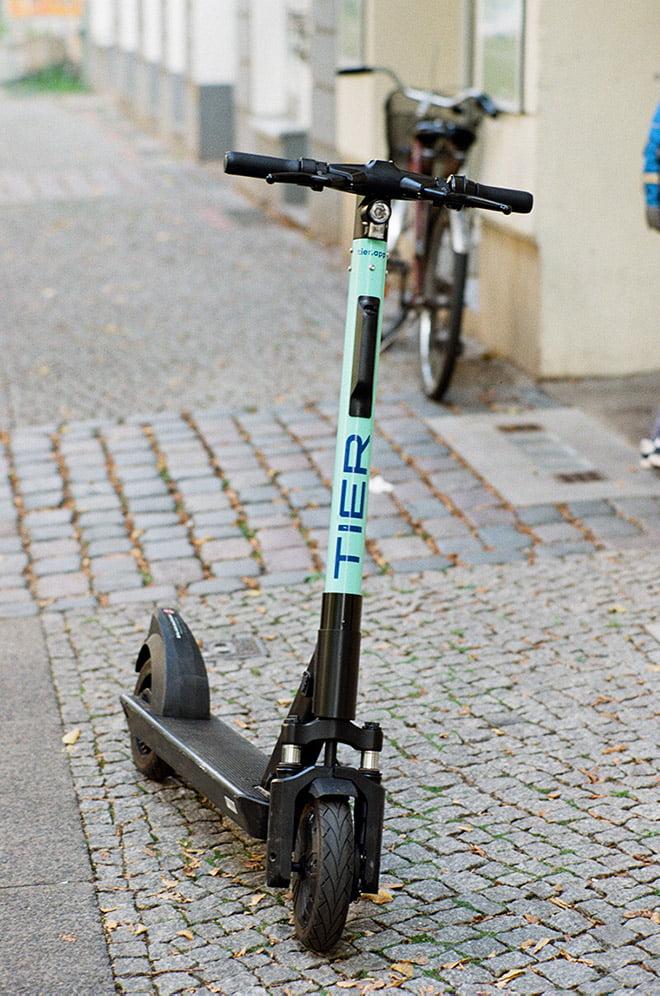 Tier electric scooter in Scandinavia