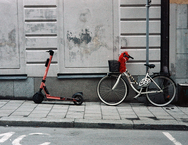 Voi electric scooter in Scandinavia