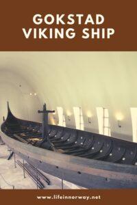 Gokstad Viking Ship pin