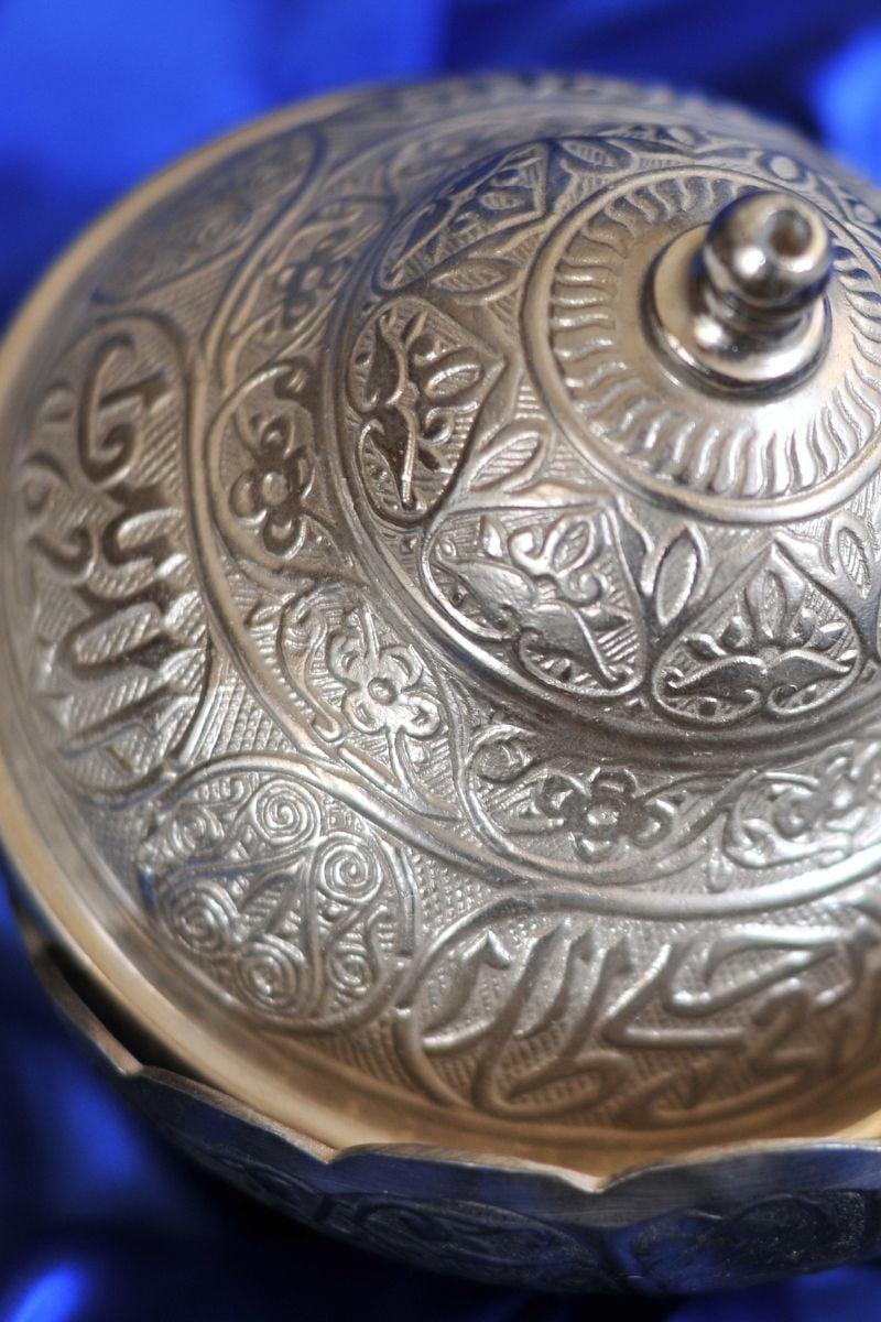 A piece of islamic silver