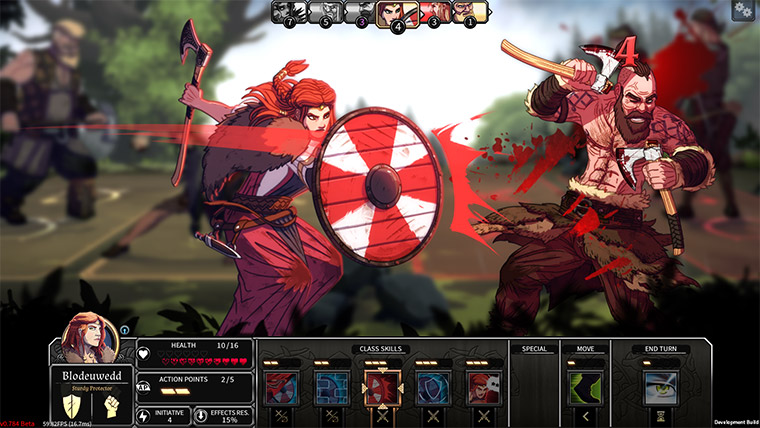 A screenshot of Dead in Vinland