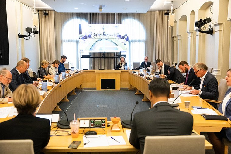 The Finance Committee in the Norwegian parliament