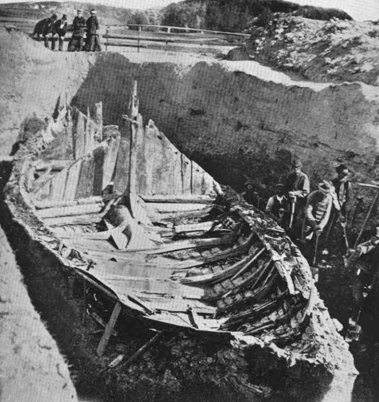 The 1880 excavation of the Gokstad ship