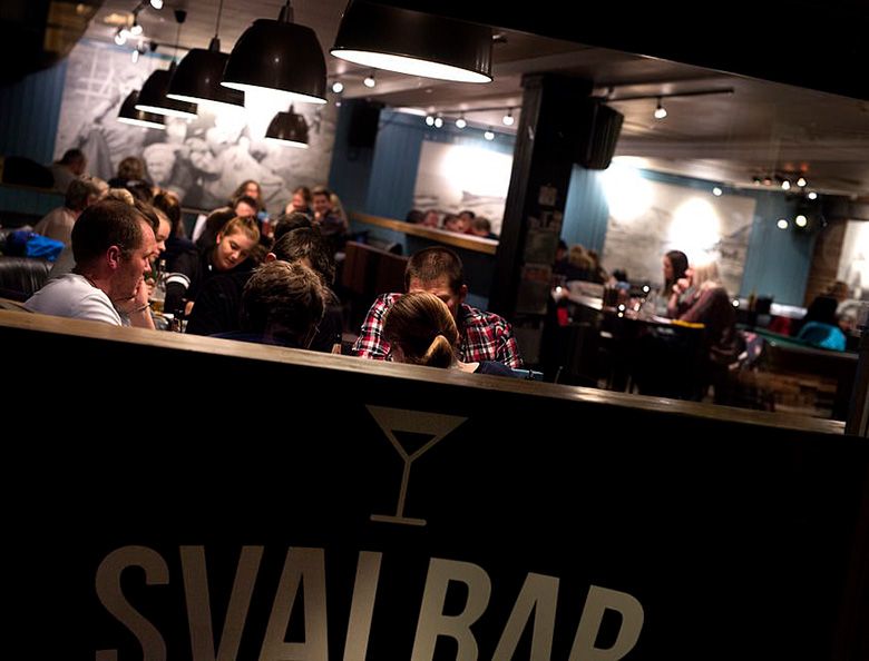 A busy evening in Svalbar