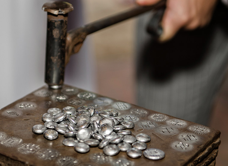 Minting old coins