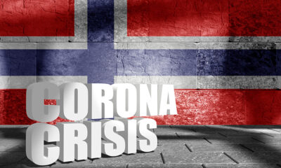 Norway coronavirus crisis graphic
