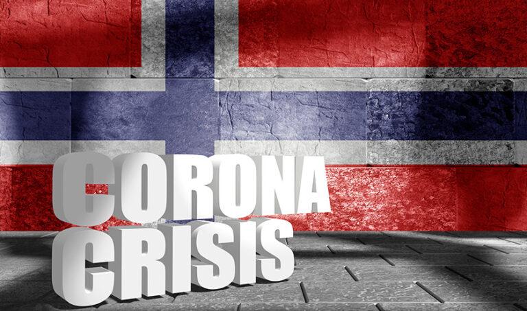 Norway coronavirus crisis graphic