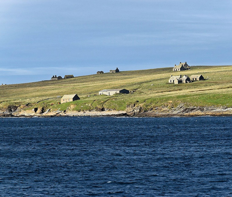 Landscape of the Orkney islands
