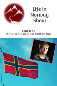 Life in Norway Show, Orkney flag, Donna Heddle