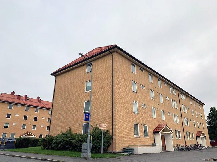 Norwegian city apartments in Trondheim, Norway
