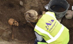 Viking grave dig in Sweden