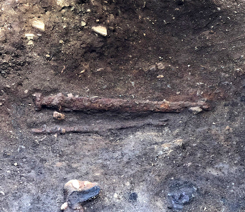 The Viking sword discovery at Vinjeøra, Norway