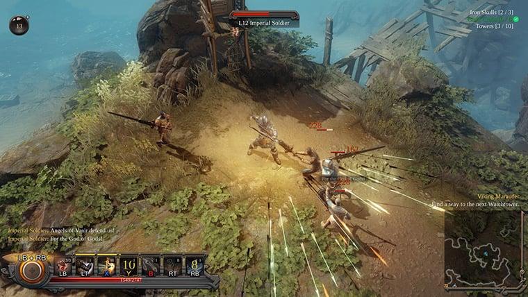 A screenshot of Vikings: Wolves of Midgard