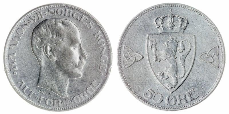 50-øre coins