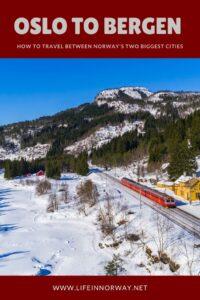 Oslo to Bergen travel