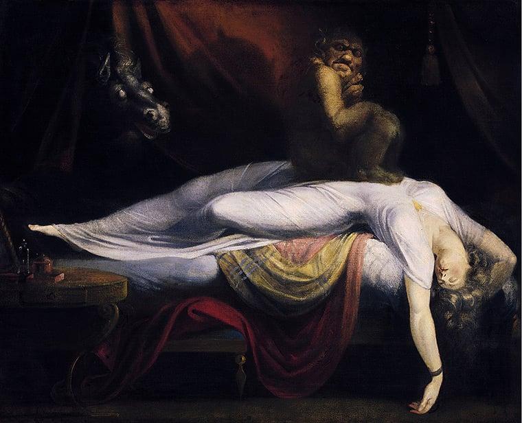 Der Nachtmahr (The Nightmare), Henry Fuseli, 1781