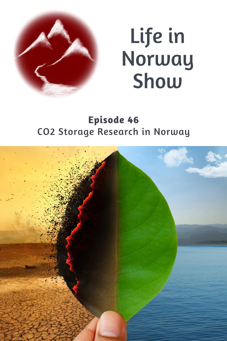 CCS Research in Norway: Carbon capture and storage