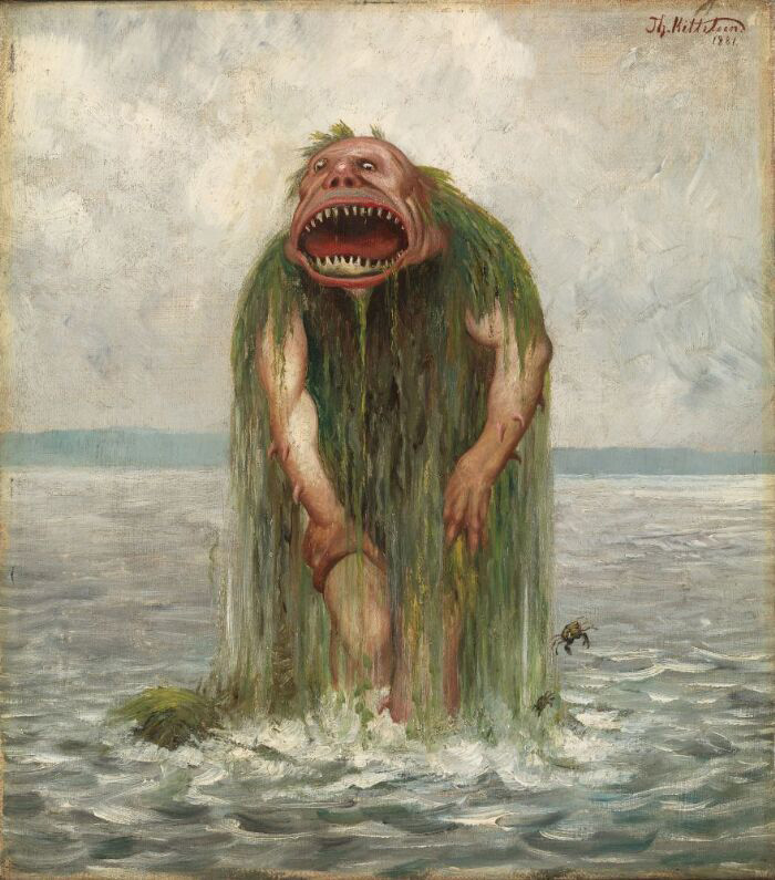 Vasstrollet, the sea monster