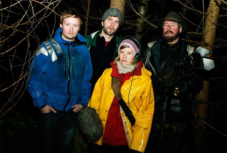 Photo of some of the Trollhunter cast