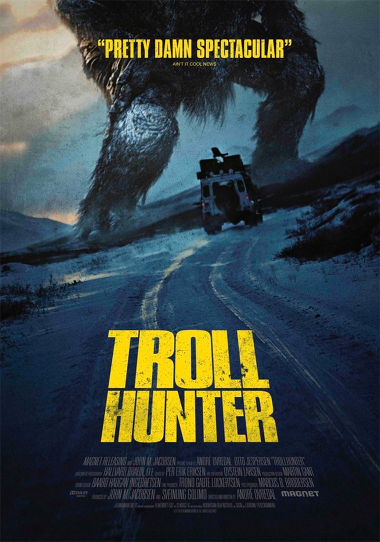 Movie poster of Trollhunter