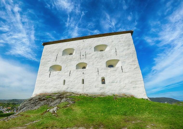 Kristiansten Fortress in Trondheim