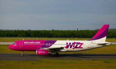 WizzAir airplane on the tarmac