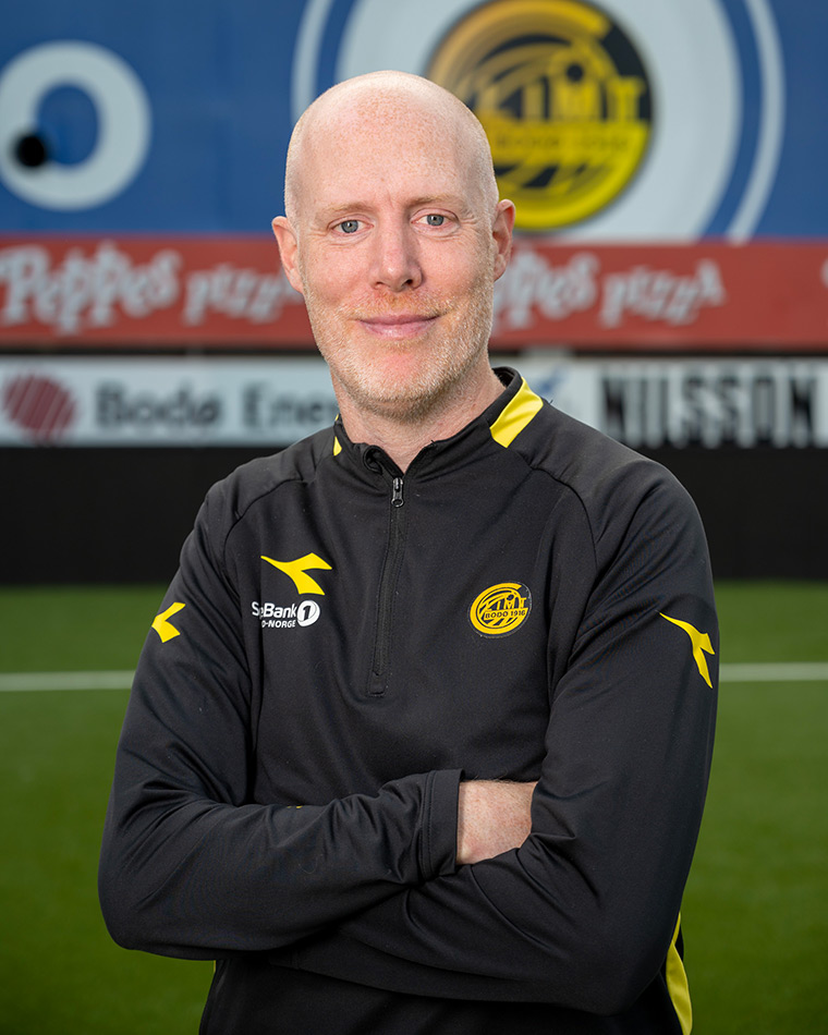 Gregg Broughton, Head of Academy at FK Bodø/Glimt