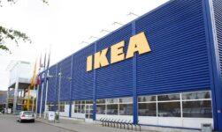 Exterior of Ikea Furuset in Oslo, Norway