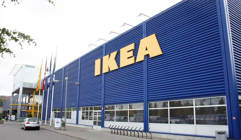 Exterior of Ikea Furuset in Oslo, Norway