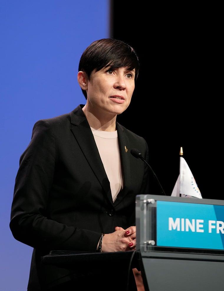 Ine Eriksen Søreide, the foreign minister of Norway