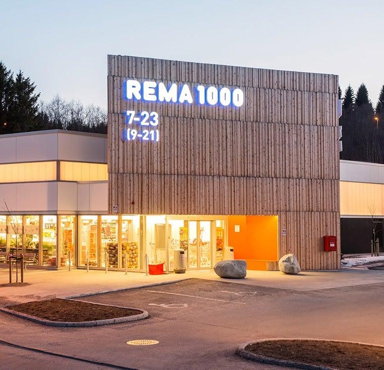 Rema 1000 opening hours supermarket