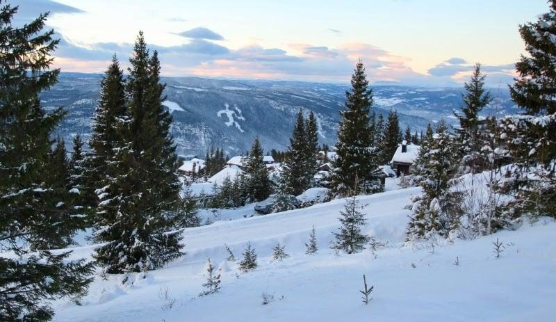 snow in Lillehammer