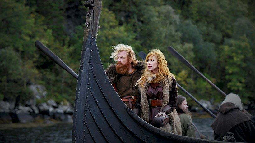 Vikings reality show promotional shot