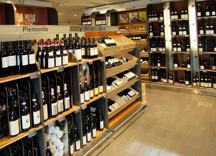 vinmonopolet store norway