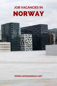 Job Vacancies in Norway Pin