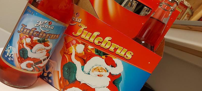 Julebrus Christmas soda