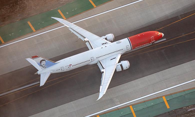 Norwegian Air Dreamliner at LAX