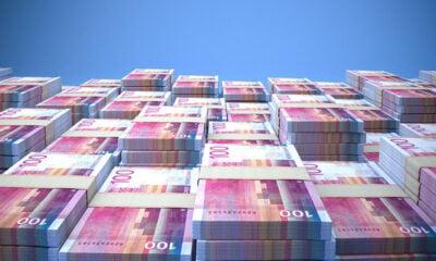 Pile of Norwegian money