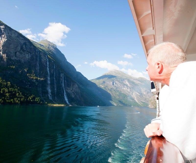 retired norwegian geirangerfjord