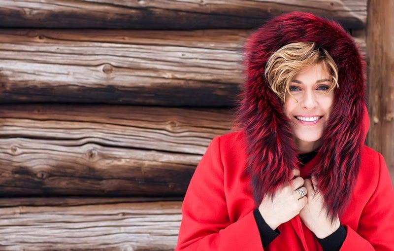 The Norwegian singer Sissel